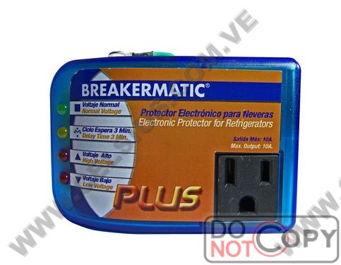PROTECTOR NEVERA DOMESTICO PME-110 BREAKERMATIC